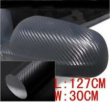 2pcs/set 30*127cm 3D Carbon Fiber Vinyl Car Wrap Sheet Roll Film Sticker Decal