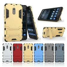 For NOKIA 6 2017 Rugged Hybrid Armor Shockproof Full Body Protect Duty Hard Case