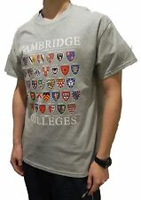 Cambridge Colleges T-shirt - Heather Grey - Colleges of Cambridge, England