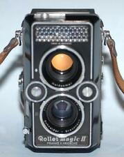 Rolleiflex Rollei Magic II camera with 75mm f3.5 Xenar lens for parts or repair