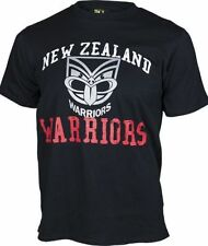 New Zealand Warriors NRL Supporter T-Shirt Tee BNWT Kids Rugby League Clothing