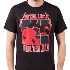 """NEW,SEALED AND OFFICIAL METALLICA """"KILL'EM ALL"""" BLACK UNISEX T-SHIRT"""