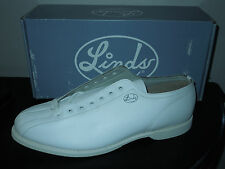 New! Linds CHAMPIONSHIP Mens Bowling Shoes White RH Right Hand size 15