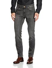 Wrangler Bostin Denim Modern Slim Fit Men Jeans -  Graze Grey - Authentic