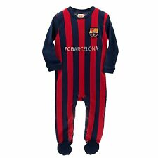 Barcelona FC Sleepsuit Babygrow (0-3 months to 12-18 months)