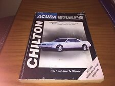 Chilton Acura Coupes and Sedans 1986-93 Repair Manual #10300