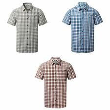 Craghoppers Mens Elmwood Checked Short Sleeved Shirt