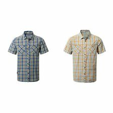 Craghoppers Mens Northbrook Checked Short Sleeved Shirt