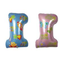 1 Years Old Foil Balloon Baby Shower Christening Party Birthday Party Photo Prop