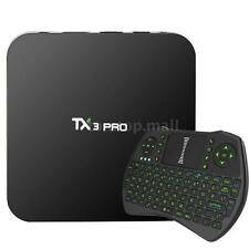 4K Android 6.0 TV BOX TX3 PRO S905X New 16.1 LOADED Quad core WIFI Free Keyboard