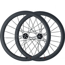 Track Fixed Gear 50mm Tubular Carbon Wheels Road Bicycle Road Bike Wheelset