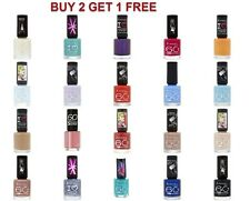 Rimmel Nail Polish 60 Seconds 8ml BUY 2 GET 1 FREE - New - Choose Any Colour