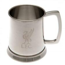 Football Clubs Licensed Product HIP Flask & TANKARDS STAINLESS STEEL in Gift Box