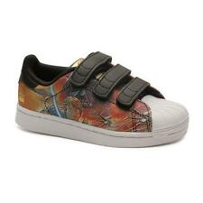 ADIDAS Superstar STAR WARS Boys Sneakers Shoes Velcro ~ 35 Euro 3.5 US NWB aa