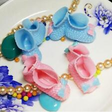 12xMini Shoes Baby Shower Boy Girl Table Favor Scatters Cake Topper Decoration