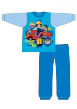 "Boys Fireman Sam Pjs Pyjamas Sleepwear 12 18 24 2 3 4 Years kids pjs pyjamas ""Sa"