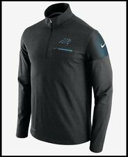 NWT$85 Men's S Nike NFL Carolina Panthers OnField Elite Coaches 1/2 Zip Jacket