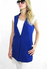 PETER NYGARD Sleeveless Vest, Sizes 10, 14, 16 (Blue) NEW With Tag.