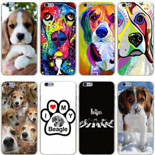 I love my Beagle Dogs Animal Pet Cute Hard Case Cover For iPhone Samsung Huawie