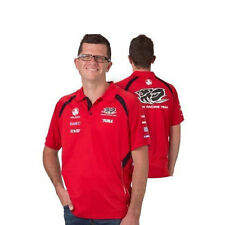 HOLDEN RACING TEAM HRT V8SUPERCARS MENS TEAM POLO TOP RED SIZE MEDIUM ONLY