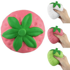 Cute Strawberry Slow Rising Squishy Stress Relief Squeeze Toy Pendant Handy