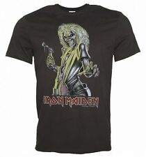 Official Men's Charcoal Iron Maiden Killers T-Shirt from Amplified