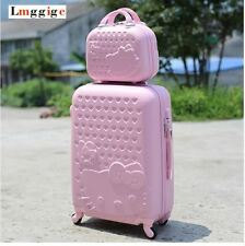 "20""22""24""28"" Hello Kitty Suitcase Set Children Women Luggage Travel Bag Trolley"