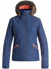 Roxy Blue Print Atmosphere Womens Snowboarding Jacket