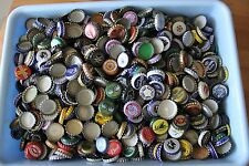 125 RANDOM DOMESTIC BEER CAPS/CROWNS 100+  DIFFERENT KINDS  VINTAGE-OLD-NEW
