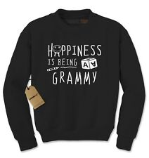 Happiness Is Being A Grammy Mother's Day Adult Crewneck Sweatshirt