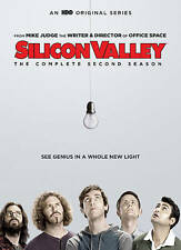 Silicon Valley: The Complete Second Season (DVD 2016) BRAND NEW FREE SHIPPING!