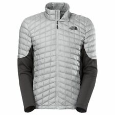 $180 NEW Mens NORTH FACE Momentum Thermoball Hybrid Down Jacket L High Rise Grey