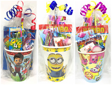 Children's Themed Pre Filled Party Cup Gifts / Children's Pre Filled Party Bags