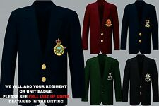 UNIT I-N ARMY ROYAL NAVY AIR FORCE RAF MENS LADIES REGIMENTAL BLAZER + BUTTONS