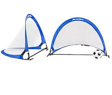 Wealers Lightweight Pop up Soccer Goals 4 Feet, with 1 Carrying Bags (Set of 2)