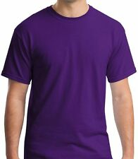 Gildan PURPLE  Heavy Cotton Shirts