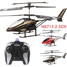 New RC HX713 2.5CH Micro Helicopter Kids Toys Radio Remote Control Aircraft