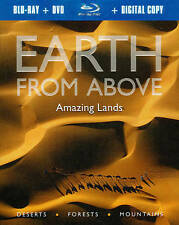 Earth From Above: Amazing Lands (Blu-ray/DVD, 2011, 2-Disc Set)