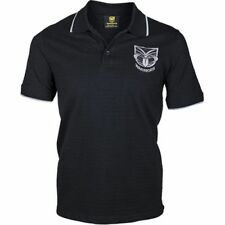 New Zealand Warriors NRL Mens Core Polo Shirt BNWT Rugby League Clothing