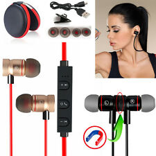 -YP Magnetic Wireless Bluetooth Handsfree Headset Earphone For Cell Phone Galaxy