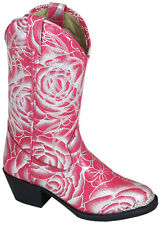 NEW! Smoky Mountain Boots - TODDLER - Western Cowboy - Pink & Silver