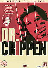 DR. CRIPPEN,(1963) Doctor, UK DVD, Donald Pleasence,Coral Browne, Classic Horror