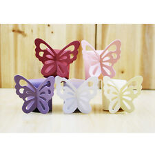 50Pcs Butterfly Party Favors Candy Chocolate Box Gift Bags Wedding Baby Shower