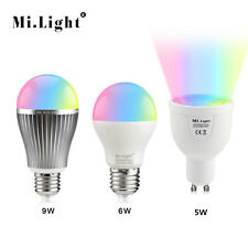 MiLight E27 GU10 RGB 4W 6W 9W 2.5G Smart Dimmable Led Lamp Light Bulb 85-265V