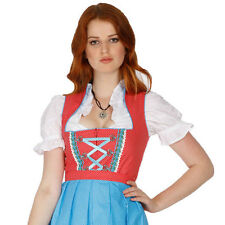 1334 - 3 pc Dirndl Dress Trachten Oktoberfest 4,6,8,10,12,14,16,18,20,22