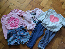 Girls 12-18 Months Bundle 3x Outfits from George, H&M, Young Dimension