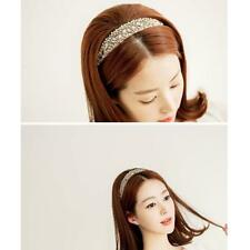 Elegant Sweet Girls Lace Pearl Hairband Rhinestone Crystal Headband Jewelry