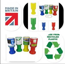 Charity Fundraising Collection Boxes. Pack of 3