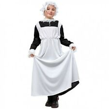 Victorian Maid Costume Girls Childrens Kids fancy dress outfit