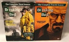 Breaking Bad: The Complete Third & Fourth Seasons DVD, 2011-12 (Two 4-Disc Sets)
